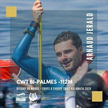 Arnaud Jerald record